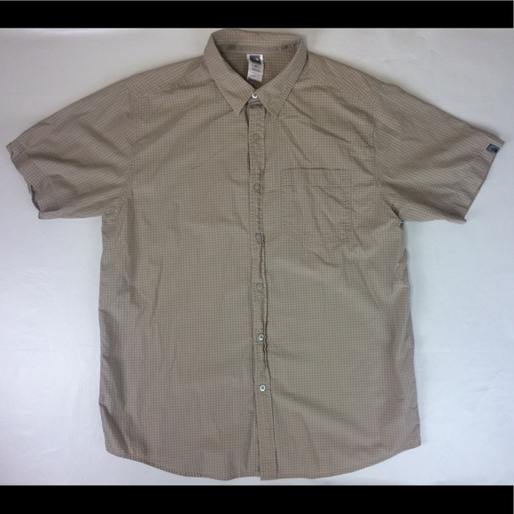 01efa3ad8 North Face Mens XL Outdoor Camping Button Up Shirt